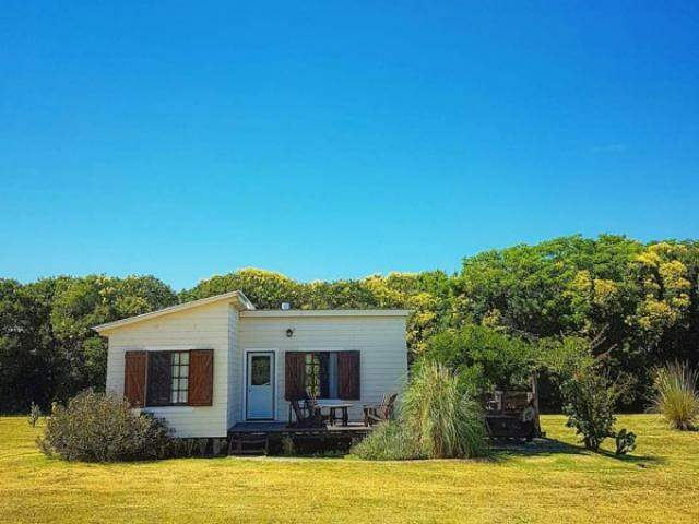 No Uruguai, uma das casas próxima a natureza. (Foto: Thiago Akira)