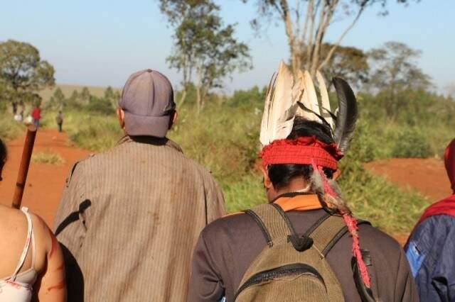 Fazenda Yvu, palco de conflito e morte em junho (Foto: Helio de Freitas)