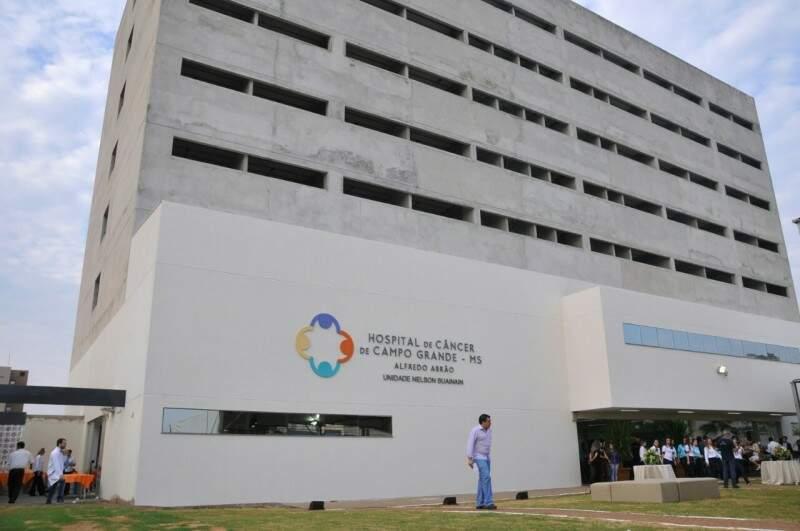 Em outubro foram inaugurados dois dos nove andares do novo prédio do Hospital do Câncer. (Foto: Alcides Neto/Arquivo)