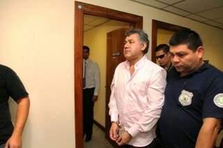 Jarvis Pavão foi levado para quartel da polícia (Foto: ABC Color)