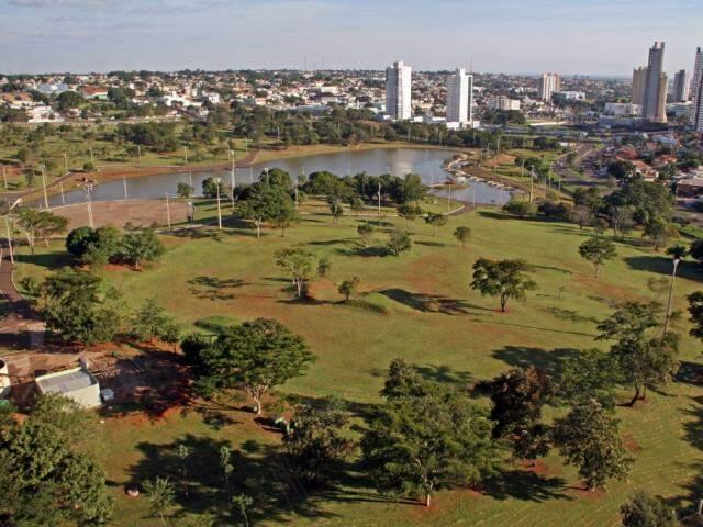 Parque das Nações Indígenas é o maior da Capital. (Foto: Marcos Ermínio/arquivo)