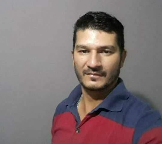 O entregador de pizza Ademir morreu na madrugada de hoje (Foto: Reprodução)