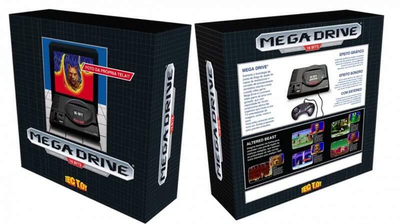 A caixa 1 é praticamente idêntica ao modelo do lançamento original de 1990.