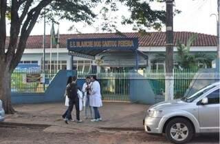 Escola estadual no Jardim Tijuca é uma das afetadas. (Foto: Marcelo Calazans)