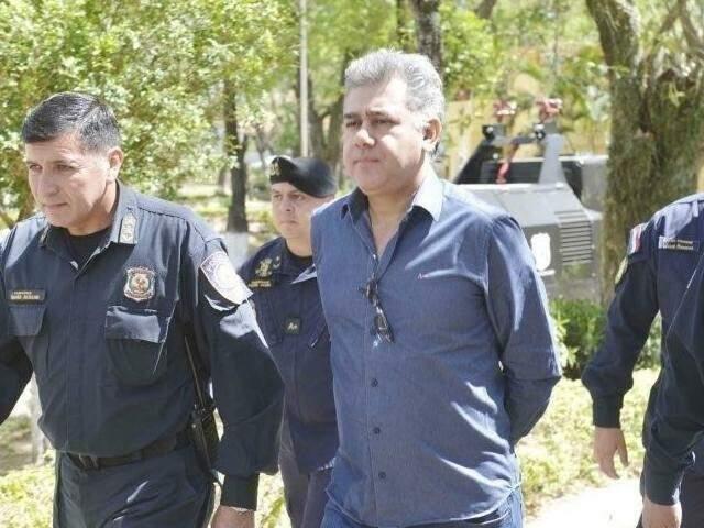 Jarvis Pavão cumpre pena no Paraguai e está condenado a 17 anos no Brasil (Foto: Arquivo)