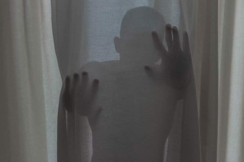 A angústia de estar preso na própria mente. (Foto: Juliana Ribas)