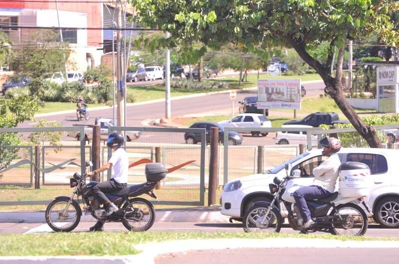 Os motociclistas recebiam 30% do salário no adicional por periculosidade (Foto: Alcides Neto)