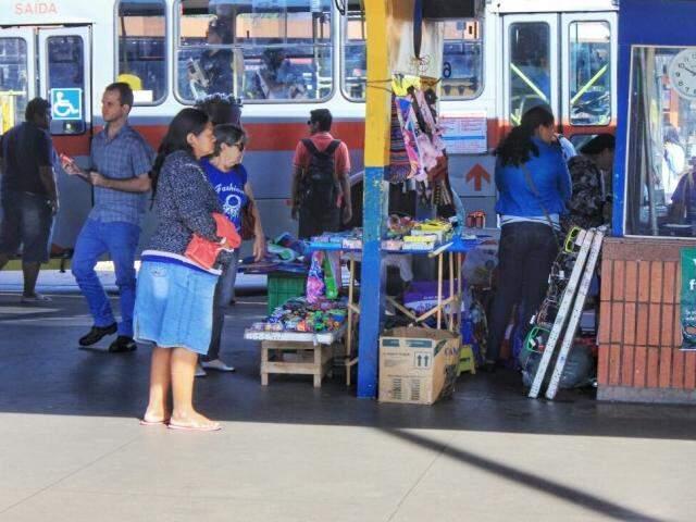 Vendedores ambulantes já podem fazer o recadastramento (Foto: Marina Pacheco)