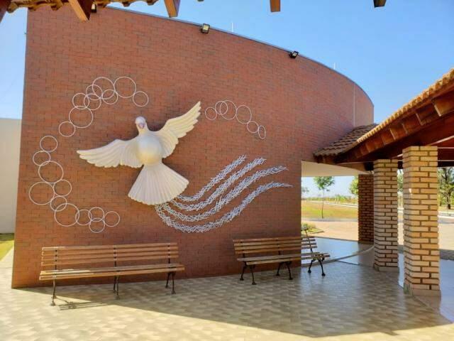 Lugar tem a paz que o momento exige. (Foto: Divulgação)
