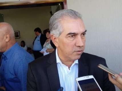 Reinaldo participa do lançamento de licitação de ponte no Paraguai