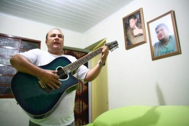 João Márcio Escobar, pai de Brunão (Foto: Marcos Ermínio)