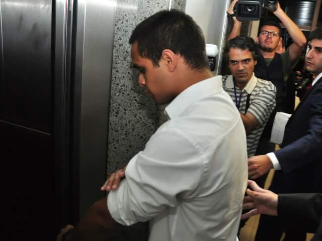 Cristiano foi mandado a júri popular pela morte de segurança e agora é réu em outro processo por lesão corporal. (Foto: João Garrigó)