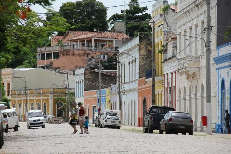 Queda em produção de minério afetou receita da cidade, mas turismo compensa (Foto: Marcos Ermínio)