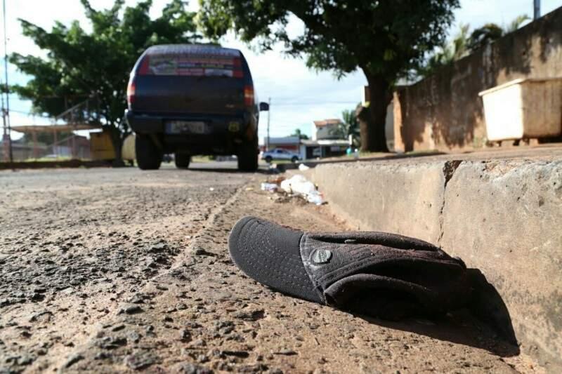 Polícia usará imagens de câmeras do local para tentar identificar autores (Foto: Marcos Ermínio)
