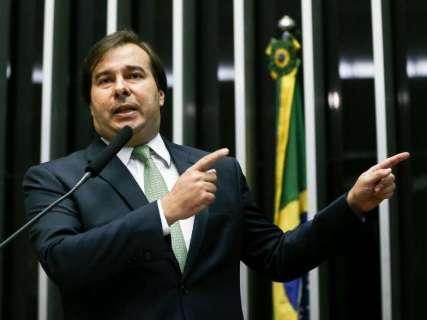 Candidato à reeleição na Câmara, Maia reúne Reinaldo e bancada de MS