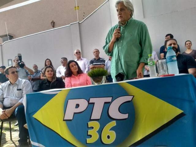 Delcídio do Amaral anunciou candidatura ao Senado na semana passada pelo PTC (Foto: Humberto Marques/Arquivo)
