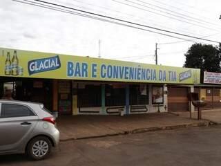 Bar da Tia está localizado próximo ao Escobar, na região da UFMS (Foto: Fernando Antunes)
