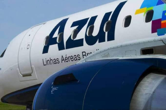 Avião da Azul apresentou problemas em uma das turbinas e passageiros que saíram de Campo Grande tiveram que concluir a viagem de ônibus (Foto: Arquivo)