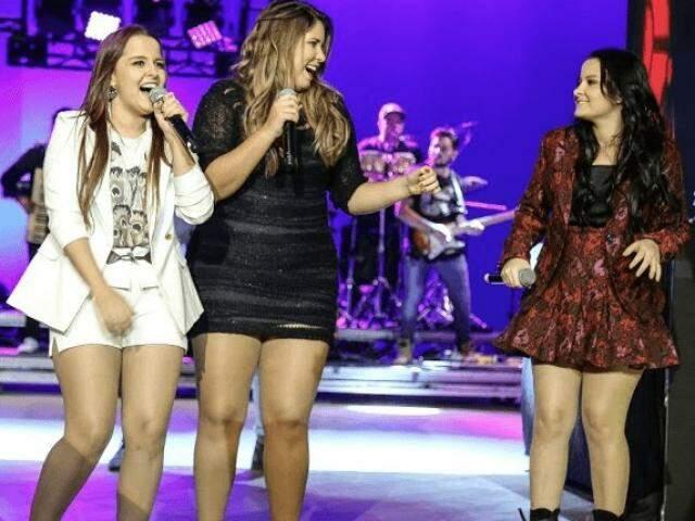 """Amigas, dupla e cantora criaram """"Festa das Patroas"""" para subirem no palco juntas. (Foto: Divulgação)"""