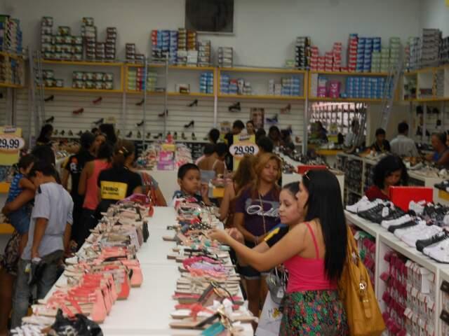 Estado ficou abaixo do volume de vendas registrado no País(Foto:Simão Nogueira)