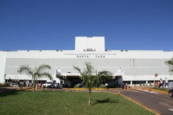 Entorno da Santa Casa é um dos pontos considerados críticos pela polícia (Foto: Divulgação/Santa Casa)