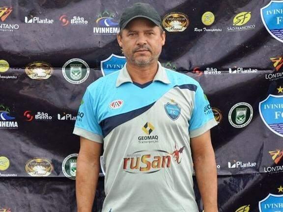Nilton Bola foi confirmado como novo técnico do ivinhema (Foto: Reprodução/ Ivinotícias)