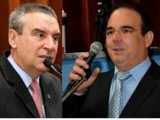 Áudio flagrou Paulo Corrêa e Felipe Orro combinando fraude a folha de ponto de servidores da Assembleia. (Foto: Divulgação/ ALMS)