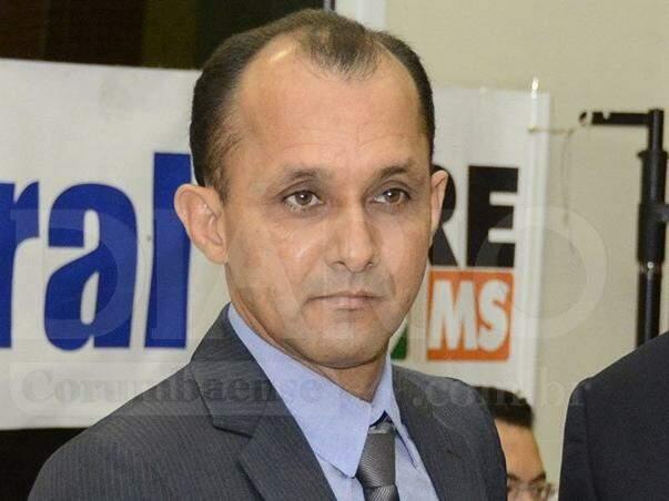 Vereador Eurípedes Zaurizio de Jesus (PTB) foi eleito com 365 votos, sendo o mais votado da Câmara de Vereadores de Ladário. (Foto: Diário Corumbaense)
