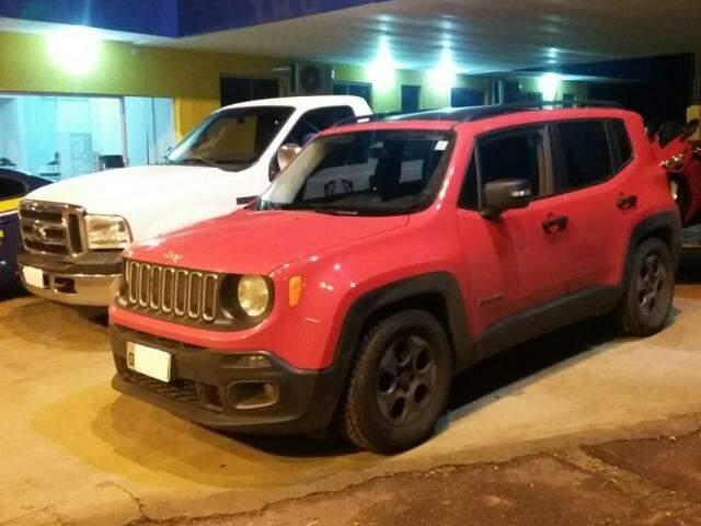 Jeep Renegade apreendido foi uma das chaves para investigações da PF sobre empresário (Fotos: Divulgação/PFR)
