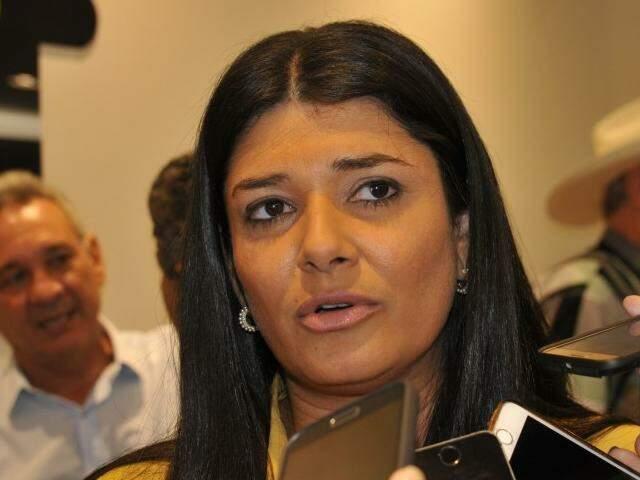 Governadora em exercício, Rose Modesto (PSDB). (Foto: Alcides Neto/Arquivo)