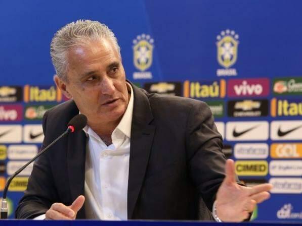 Tite convocou 23 jogadores que atuam no Brasil (Foto: Reprodução / CBF)