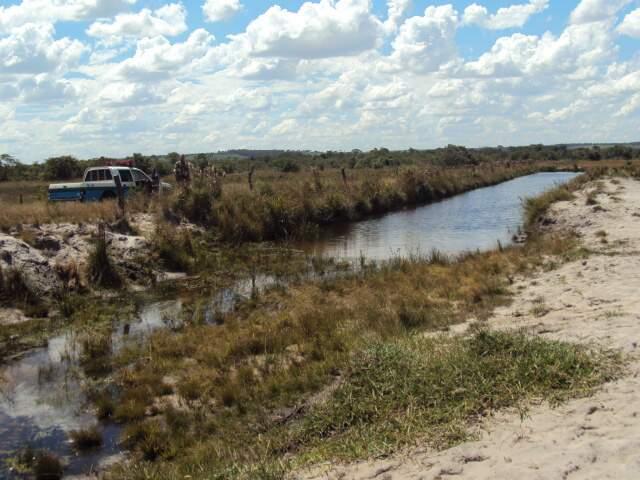 O flagrante foi na propriedade rural Paraíso Escondido, em Nova Andradina. (Foto: Divulgação)