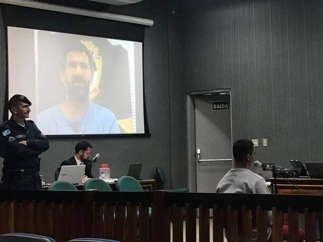 Nando e Claudinei estão sendo julgados nesta sexta-feira. (Foto: Ronie Cruz)