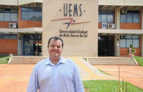 Reitor da UEMS é reeleito com 89% de aprovação e vai administrar 207 milhões