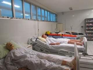 Laboratório de Enfermagem (Foto: Divulgação)