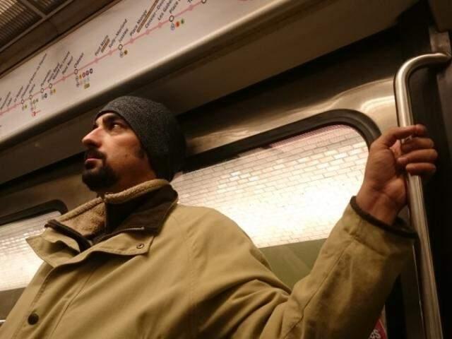 No metrô, as primeiras impressões sobre a França.