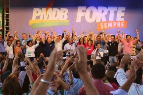 Defendido em convenção do PMDB, Puccinelli coloca busca de aliados como objetivo