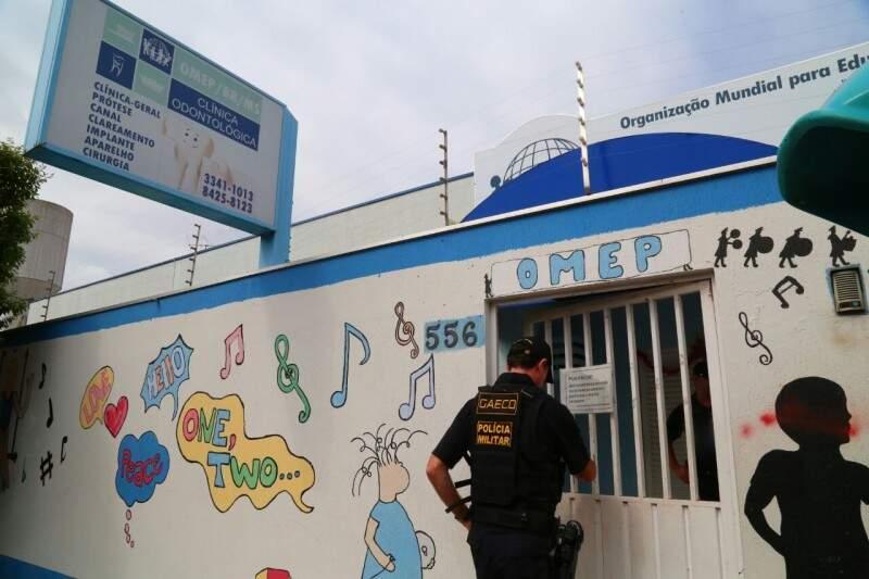 """Operação do Gaeco fez """"batida"""" na Omep dia 13. (Foto: Marcos Ermínio)"""