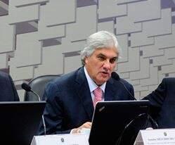 Senador Delcídio do Amaral (PT) também recebeu doação da empreiteira UTC. (Foto:Divulgação)