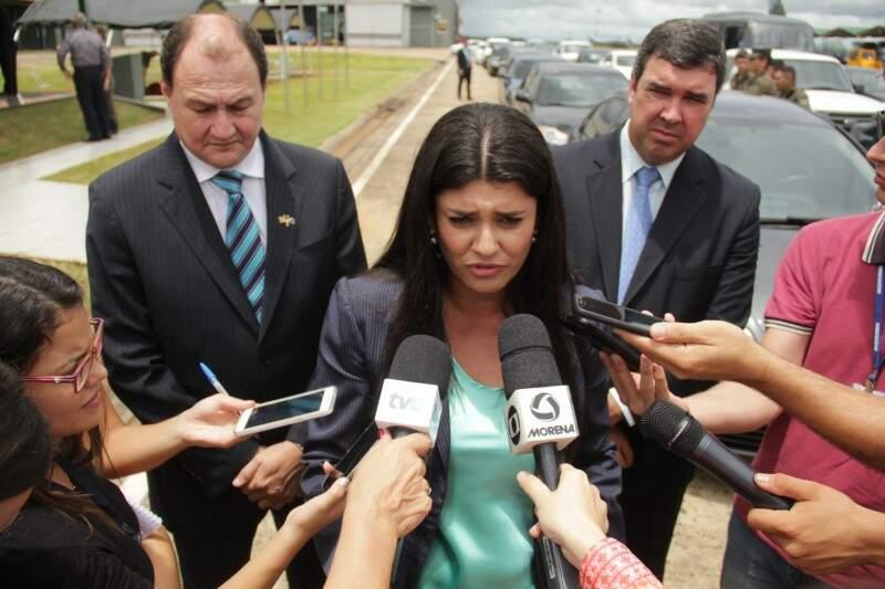 Vice-governadora, Rose Modesto (PSDB). (Foto: Marcos Ermínio)