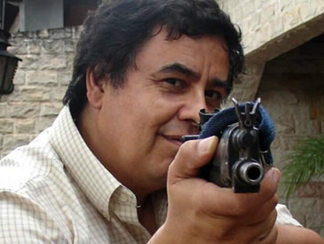 Jornalista paraguaio virou notícia por ser alvo de ameaças por reportagens sobre o tráfico. (Foto: Tom Philips)