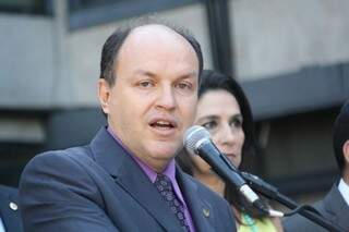 Mochi admitiu, pela primeira vez, que vice-governadora é o nome do PMDB para o Senado (Foto: Marcos Ermínio)