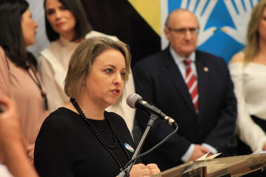 Jacqueline Machado, juíza criadora do projeto (Foto: Marina Pacheco)
