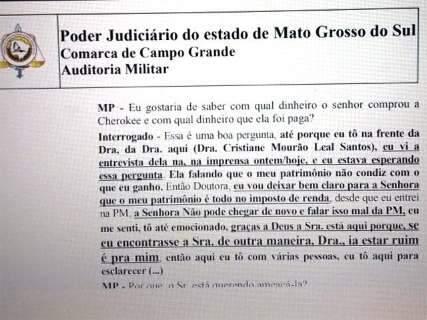 Juiz nega pedido de liberdade de tenente-coronel preso na Oiketicus