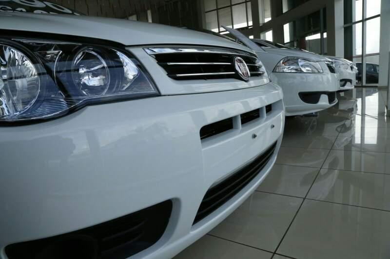 Venda de veículos usados cresceu no ano passado. (Foto: Arquivo Campo Grande News)