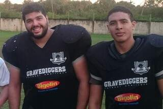 Jogadores do time campo-grandense que hoje busca vaga na final da Supercopa São Paulo de Futebol Americano (Foto: Divulgação)