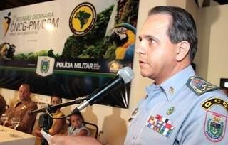 Comandante-geral da PMMS e presidente do CNCG, coronel Carlos Alberto dos Santos David, deverá se encontrar com ministro na próxima semana (Foto: Divulgação/Denilson Secreta)