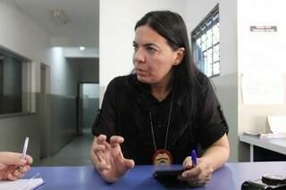 Delegada Christiane Grossi, da 6ª Delegacia de Polícia Civil (Foto: Arquivo/ Marcos Ermínio)