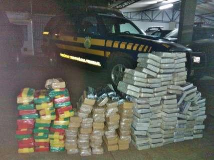 Empresário é preso com 209 quilos de cocaína e crack em caminhonete Hilux