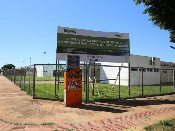 UPA Jardim Leblon foi inaugurada em abril. (Foto: Fernando Antunes/Arquivo)